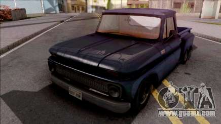 Chevrolet C10 1965 IVF for GTA San Andreas