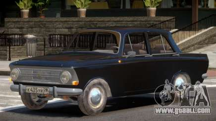 1968 Moskwitch 412 V1.0 for GTA 4