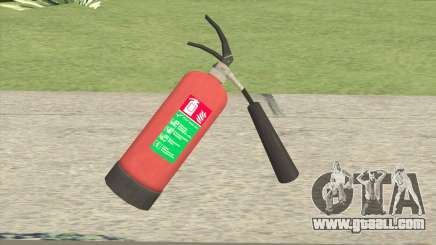 Fire Extinguisher GTA IV for GTA San Andreas