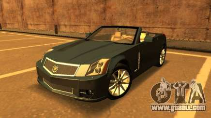 Cadillac XLR-V 2009 for GTA San Andreas