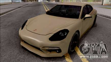 Porsche Panamera Turbo 2017 Lowpoly for GTA San Andreas