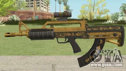 Bullpup Rifle (Scope V2) Main Tint GTA V for GTA San Andreas