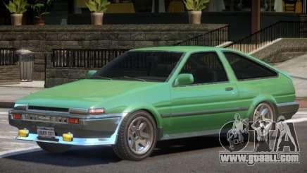 1986 Toyota Sprinter V1 for GTA 4