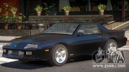 1990 Chevrolet Camaro V1.0 for GTA 4