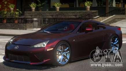 Lexus LFA V1.2 for GTA 4