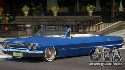 1963 Chevrolet Impala Cabrio for GTA 4