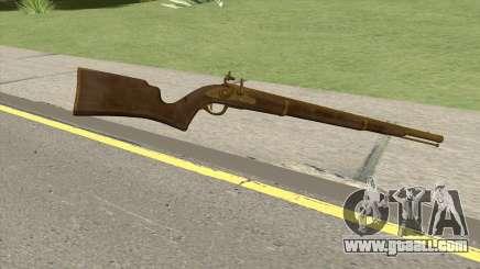 Edinburgh Musket (Gold) GTA V for GTA San Andreas