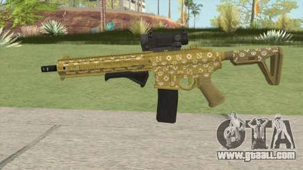 Carbine Rifle GTA V (ILL Cammo) for GTA San Andreas