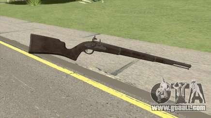 Edinburgh Musket (Platinum) GTA V for GTA San Andreas