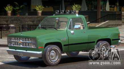 Chevrolet Blazer V1.0 for GTA 4