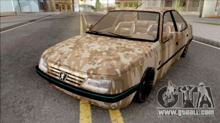 Peugeot 405 Army for GTA San Andreas