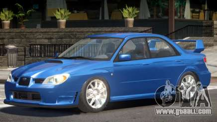 Subaru Impreza Spec C for GTA 4