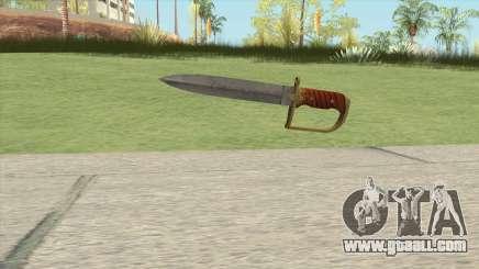 Antique Cavalry Dagger V1 GTA V for GTA San Andreas