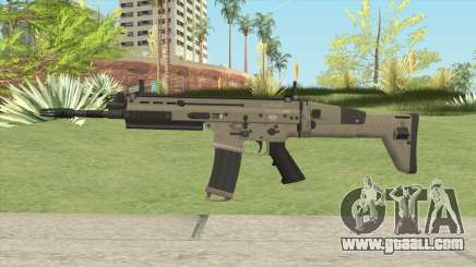 SCAR-L Assault Rifle for GTA San Andreas