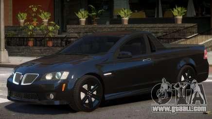 Pontiac G8 Tuned for GTA 4