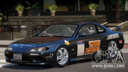 Nissan Silvia S15 V1.1 PJ3 for GTA 4