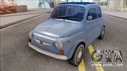 Fiat Abarth 595 SS 1968 Strip Wheels for GTA San Andreas