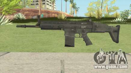 SCAR-H Black for GTA San Andreas