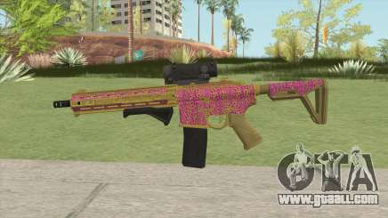 Carbine Rifle GTA V (Leopardo Rosa) for GTA San Andreas