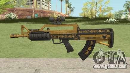 Bullpup Rifle (Two Upgrades V3) Main Tint GTA V for GTA San Andreas