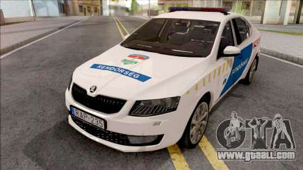 Skoda Octavia A7 Rendorseg for GTA San Andreas
