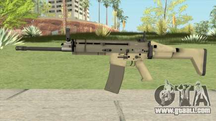 SCAR-L (L4D2) for GTA San Andreas