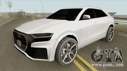 Audi Q8 2019 (Low Poly) for GTA San Andreas
