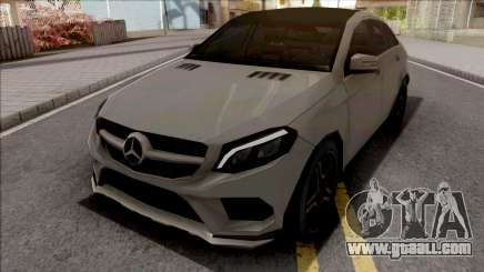 Mercedes-Benz GLE 350 Coupe Lowpoly for GTA San Andreas