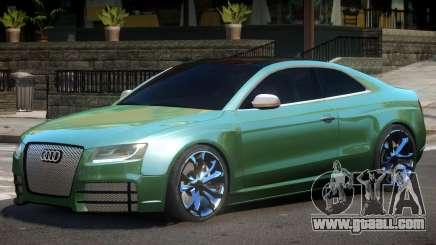 Audi S5 FSI V1 for GTA 4