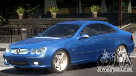 Mercedes CLK 63 Y5 for GTA 4