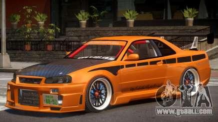 Nissan GT-R Alfa for GTA 4