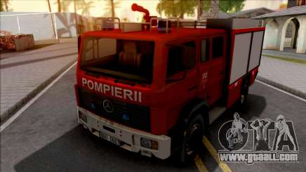 Mercedes-Benz 1222 LF 16-12 Pompierii for GTA San Andreas