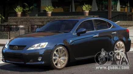Lexus IS V1.0 for GTA 4