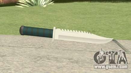 Knife GTA IV for GTA San Andreas
