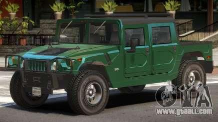Hummer H1 ST for GTA 4
