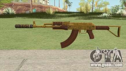 Assault Rifle GTA V Suppressor (Extended Clip) for GTA San Andreas