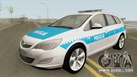 Opel Astra J (Policja KSP) for GTA San Andreas