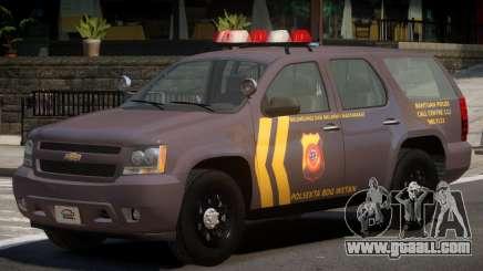 Chevrolet Tahoe Y12 Police for GTA 4