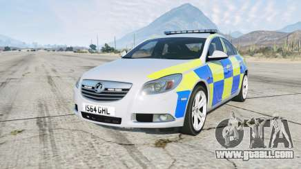 Vauxhall Insignia British Police for GTA 5