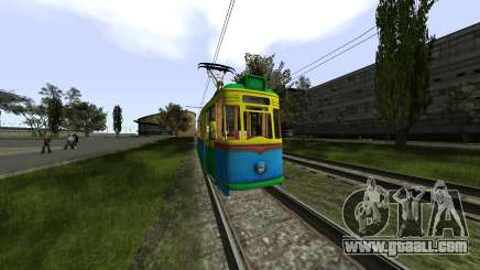 Gotha T57 Tram for GTA San Andreas