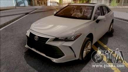 Toyota Avalon Hybrid 2019 for GTA San Andreas