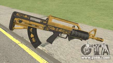Bullpup Rifle (Grip V1) Main Tint GTA V for GTA San Andreas