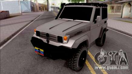 Toyota Land Cruiser 4x4 Off-Road for GTA San Andreas