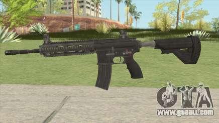 HK416 (PUBG) for GTA San Andreas