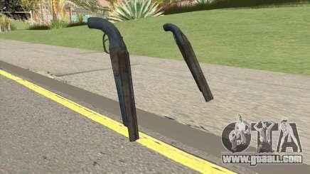 Double Barrel Shotgun GTA V (LSPD) for GTA San Andreas