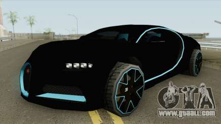 Bugatti Chiron 42 Seconds (SA Style) 2018 for GTA San Andreas
