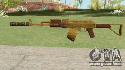 Assault Rifle GTA V Suppressor (Box Clip) for GTA San Andreas