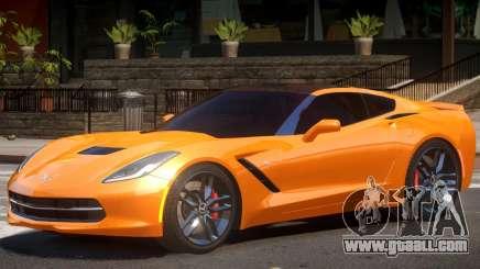 Chevrolet Corvette C7 Z51 for GTA 4
