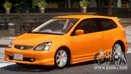 Honda Civic R V1.0 for GTA 4