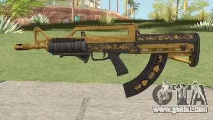 Bullpup Rifle (Grip V2) Main Tint GTA V for GTA San Andreas